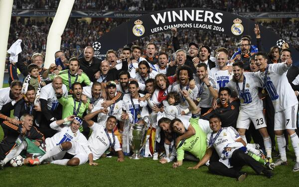 Real Madrid Are Champions of the 2013/14 Champions League Season.
