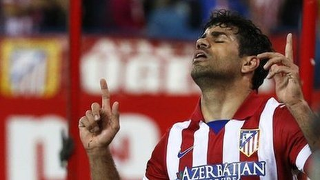 Diego Costa Returns for Champions League Final Against Real.