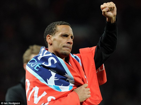 Rio Ferdinand Will Bring an End to His Twelve-Year Tie With Manchester United This Summer.