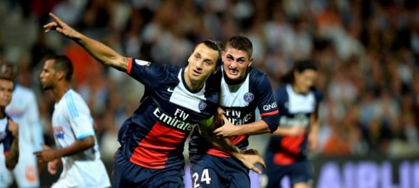 Zlatan Ibrahimovic Returned to PSG Squad Following Five Week Break Due to Injury Against Rennes.