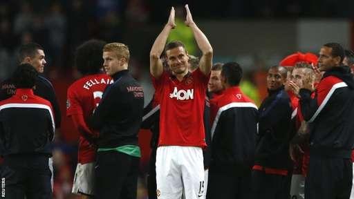 Nemanja Vidic Says Goodbyes At Old Trafford.