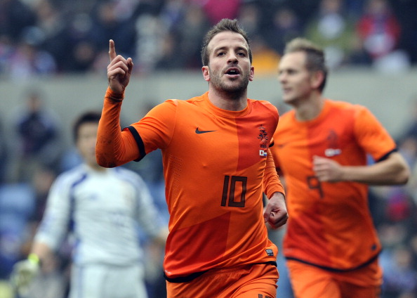 Rafael van der Vaar Set to Miss Out on the World Cup With a Calf Injury. AFP PHOTO / JOHN THYS        (Photo credit should read JOHN THYS/AFP/Getty Images)