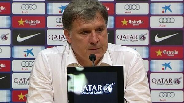 Martino Will No Longer Coach Barcelona, Resigns