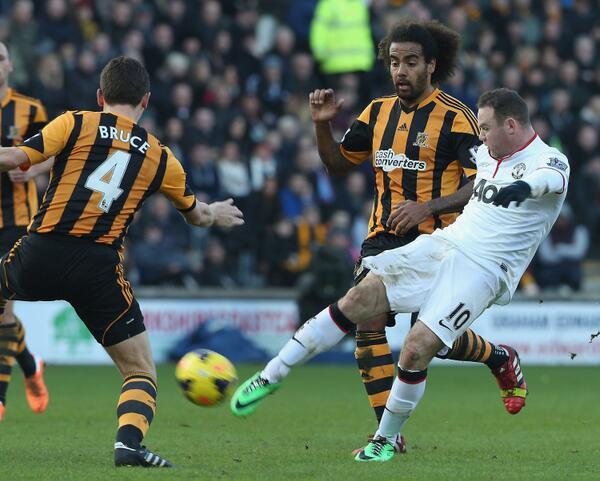 Wayne Rooney's Strike at Home to Hull City Won Manchester United's Goal of the Season at an Award Gala Last Night.