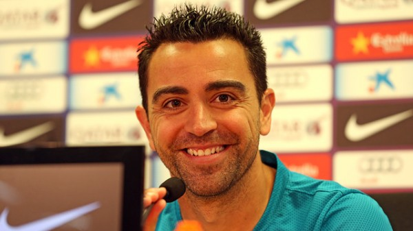 Xavi Believes Barcelona Can Put Behind Their Miserable 2014 Campaign By Retaining the La Liga Title. Image Credit: Miguel Ruiz for Barca.