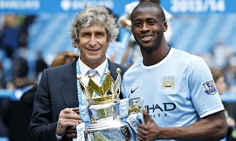 Yaya Toure and Boss