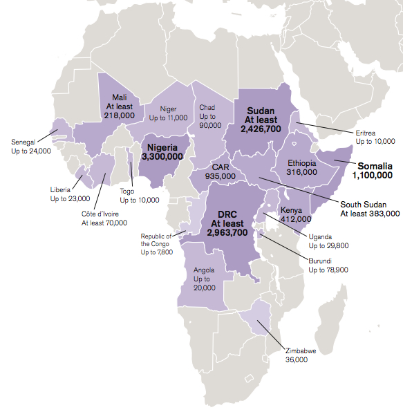 internally-displaced-africa-map