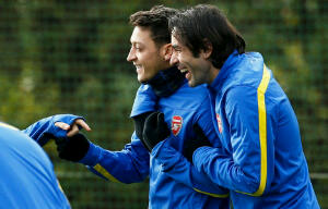Pires and Ozil