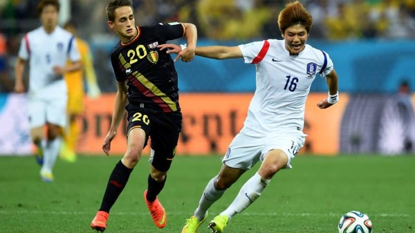 Manchester United's Adnan Januzaj Dazzled as 10-Man Belgium Knock South Korea Out of the World Cup.
