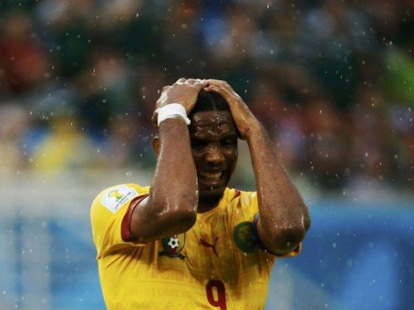 Eto'O Set to Miss Cameroon's Second Group A Game Against Croatia.