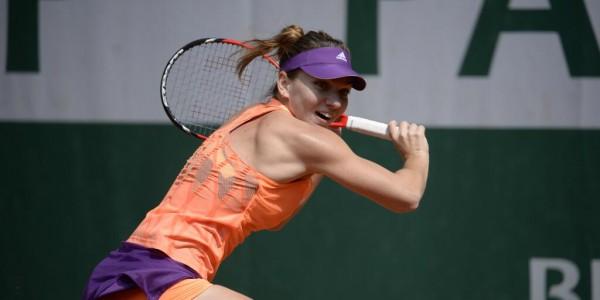 Simona Halep Beats Andrea Petkovic to Claim Her First Grand Slam Final Berth.