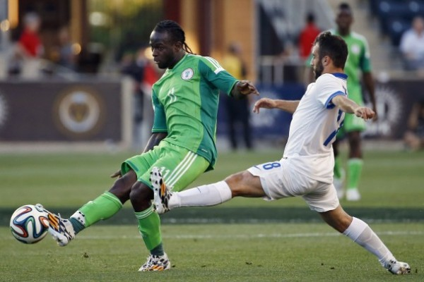 Victor Moses Impressed Nigerian Fans at the Phildephia Union Home, With Some Terrific Runs On the Left Wing. Image: PA.