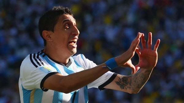 Angel Di Maria Celebrates Scoring an Extra-Time Match-Winner Against Switzerland in the Round of 16 of the World Cup. Getty Image.