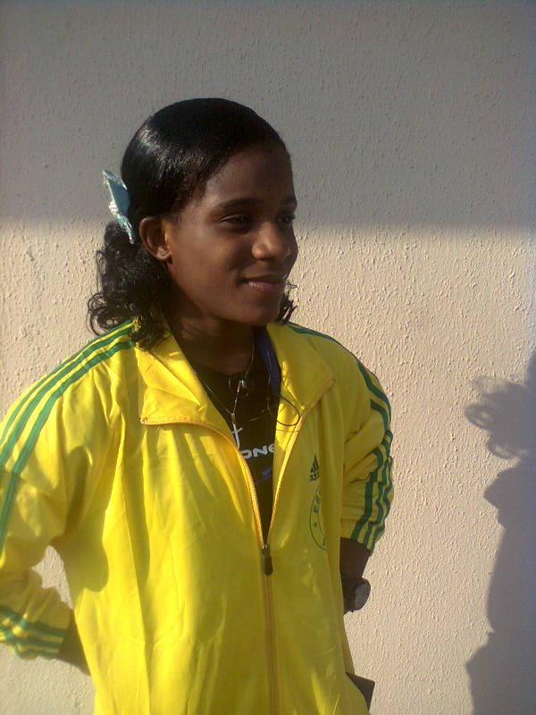 Chika Amalaha Claims Team Nigeria's First Commonwealth Gold. Image Credit: Face Book. Chika Amalaha's Profile.