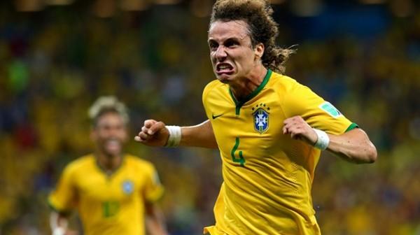 David Luiz Celebrates After Scoring a Beautiful Free-Kick for the Selecao. Image: Fifa via Getty Image.