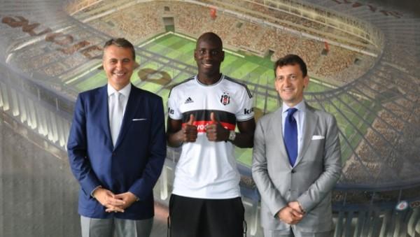 Demba Ba Joins Turkish Club Besiktas.