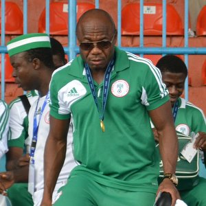 Golden Eaglets Coach Emmanuel Amuneke Satisfied With His Players' Performance After the Draw in Cairo.