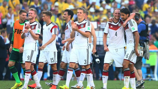Germany Players Celebrates Fifa World Cup Quarter-Final Win Over France. Image: Fifa via Getty Image.