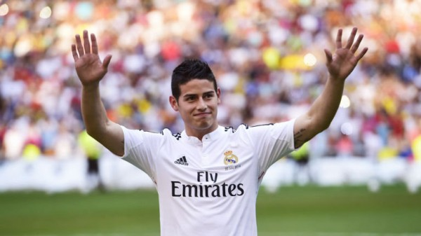 James Rodriguez Will be In Contention for His Bernebeu League Debut Against Newly Promoted Cordoba in the weekend of 23 and 24 August.