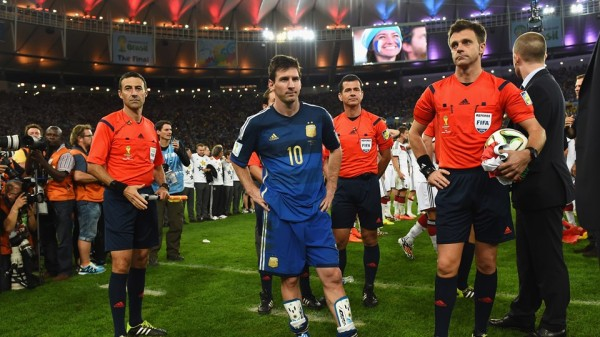 Lionel Messi Get Set to Proceed for His Golden Ball Presentation. Image: Fifa via Getty Image.