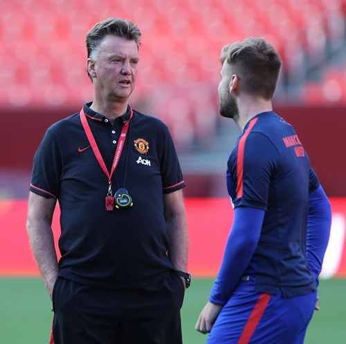Man Utd Won't Change System Against Inter- Van Gaal