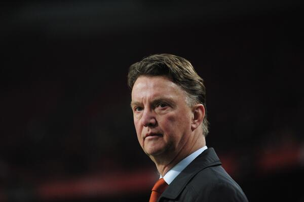 Louis van Gaal is Expected at United's Training Ground Today.