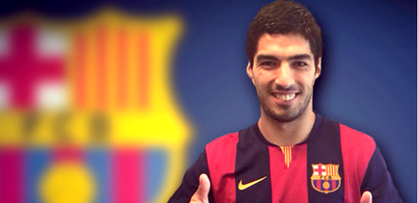 Luis Suarez in Line for His Barca Debut Against Real Madrid.