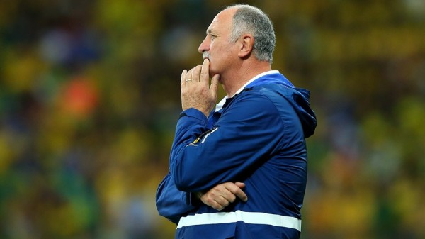 """Scolari Describes His Team's Humiliation By Germany as """"Catastrophic. Image: Fifa via Getty Image."""