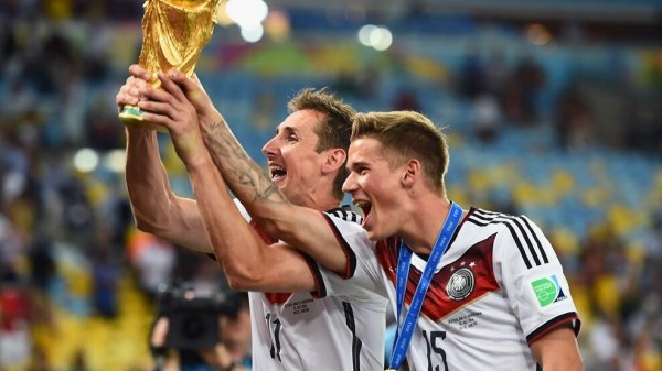 Miroslav Klose Finally Hoist the World Cup In His Fourth Attempt. Image: Fifa via Getty Image.