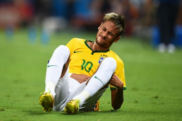 Neymar Feared He Wouldn't Walk Again After Breaking his  Vertebrae at the Fifa World Cup. Image: Fifa via Getty Image.