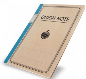Emotional 'Onion Notebook' Makes You Cry When You Write in It