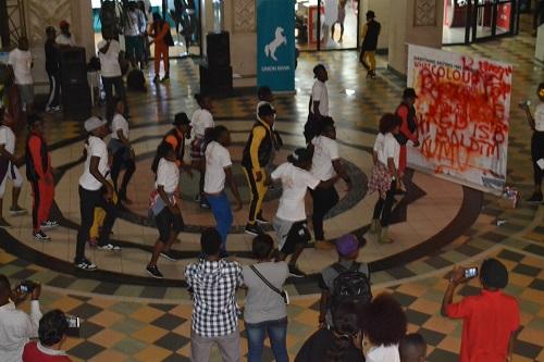 Silverbird Flash Mob