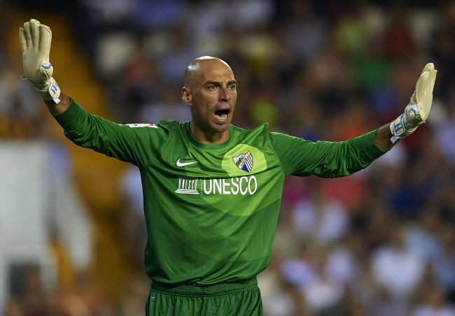 Man City Signs Willy Caballero from Malaga for 6 Million Pounds.