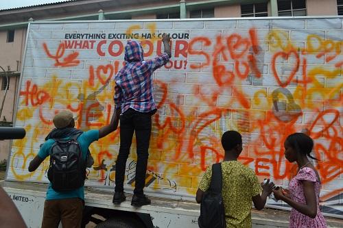 Yaba Tech Grafitti Canvass
