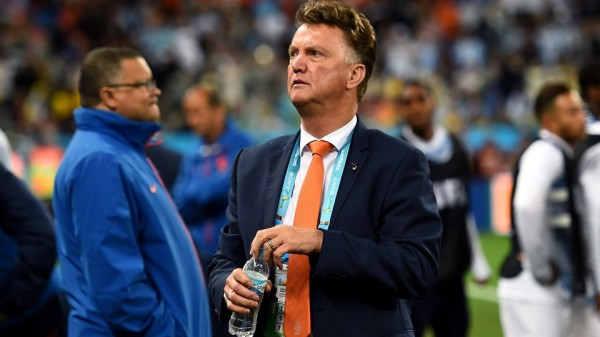 Louis van Gaal Will Quit His Position as the Netherlands Coach After Tonight's Third-Place Match Against Brazil, as His Man United Contract Comes Into Effect. Image; Fifa via Getty Image