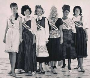 Epic Throwback Of Nigeria At Miss Universe Contest From 1964