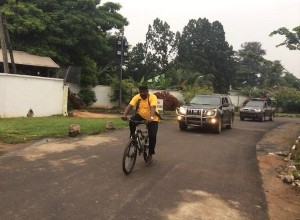 See How Governor Rochas Okorocha Keeps Fit