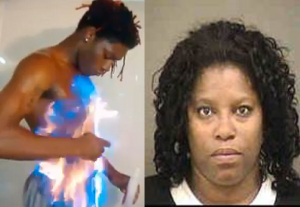 Mother Docked For Helping Son Complete Facebook Fire Challenge