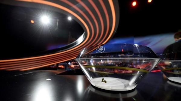 The Europa League Draw.