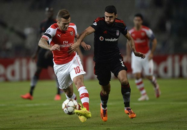 Besiktas and Arsenal end in stalemate