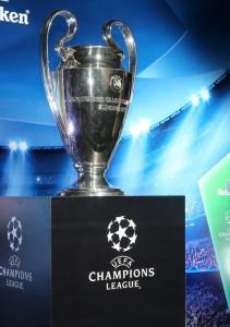 The European Champions League Trophy.