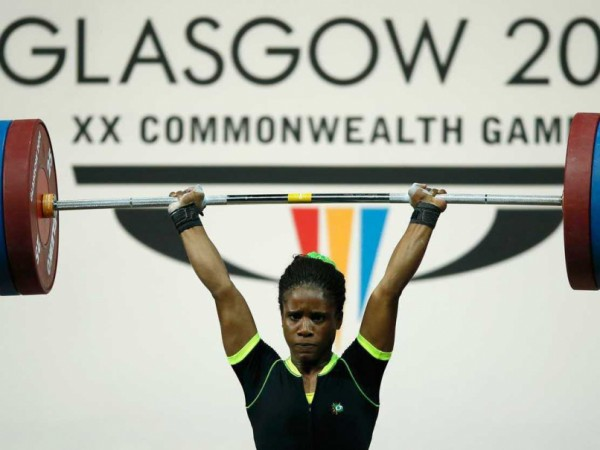 Chika Amalaha Stripped of Her Gold Medal at Glasgow 2014 Commonwealth Games Following Her Failed Drug Test. Image: Getty Image.