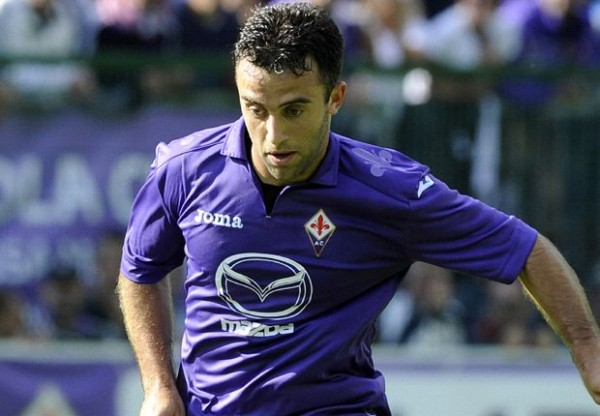 Fiorentina's Guiseppe Rossi Injured His Right Knee in Training Last Week.