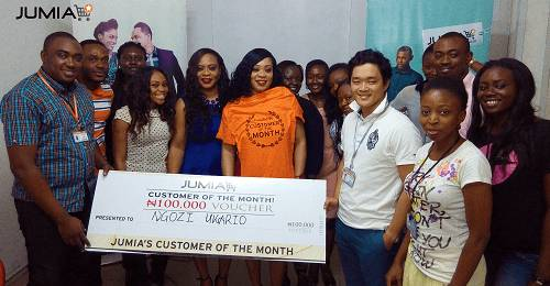Jumia Nigeria rewards 'Ngozi Ukario' as the customer of the month in new customer appreciation initiative
