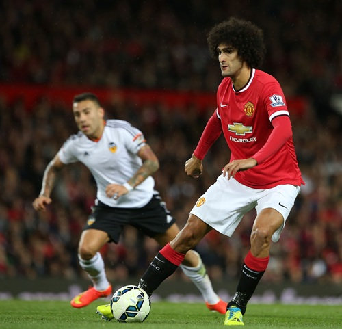 Marouane Fellaini is a Major Injury Doubt for the Trip to Sunderland. Image: MUFC.