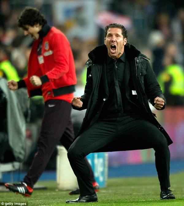 Diego Simeone Banned for Eight-Games for Unsportsmanlike Actions During Spanish Super Cup Victory.