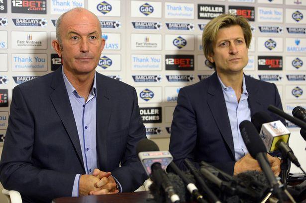 Ian Hollway and Steve Parish