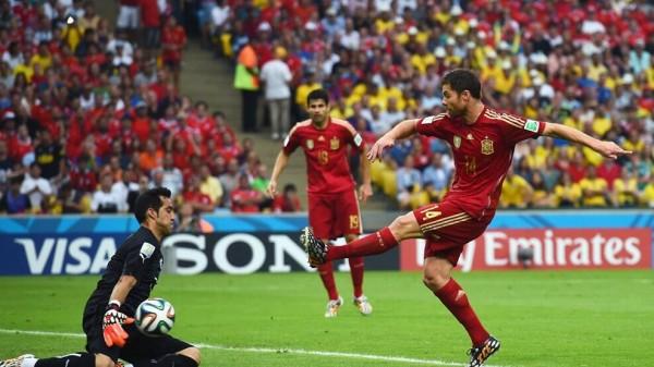 Xabi Alonso Retired from Spain Duty Earlier in the Week.
