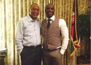 Akon Opens Up On Plans With President Kenyatta Of Kenya