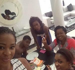 MBGN — Ezinne Akudo, Shows Off Her Family